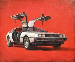 """DeLorean DMC-12 ⠀холст, акрил ⠀70х90см ⠀ ⠀Яркая интерьерная картина с неординарным автомобилем DeLorean DMC-12. Многом этот автомобиль знаком по фильмам """"Назад в будущее"""", где он выступал в роли машины времени. На момент выпуска, а это 1981 год, автомобиль сочетал в себе прогрессивные для того времени инженерные решения и футуристический дизайн, в разработке которого принял участие легендарный Джорджетто Джуджаро из Italdesign. ⠀ ⠀#ЧибисковПавел #художник #Картины #Живопись #Искусство #картинаназаказ #арт #холстакрил #паркгорького #pavelchibiskov #art #paintings #вернисажмосква #вернисаж #музеон #паркгорького #художникикрымскойнабережной #художникимосквы #художники #цдх #артмосква #картиннаягалерея #галереимосквы #артмосква #художникимосквы #купитькартину #купитькартинувмоскве #тишинка #гризайль #grisaille #delorean #dmc #backtothefuture"""