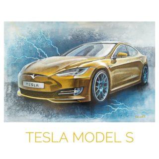 Tesla Model S ⠀60x90cm ⠀холст, акрил ⠀ ⠀Этот спортивный электрокар - технологии будущего уже сегодня. Фактически, лучший из всех автомобилей сегодня. ⠀Почти идеальная аэродинамика ⠀650км побег на одном заряде ⠀Быстрая зарядка - 300км/15минут ⠀0-96км/ч менее, чем за 2сек. ⠀безопаснее даже чем Volvo ⠀Пушка ⠀ ⠀Картина продаётся. ⠀ ⠀https://chibiskov.ru ⠀ ⠀#ЧибисковПавел #художник #Картины #Живопись #Искусство #картинаназаказ #арт #холстакрил #паркгорького #pavelchibiskov #art #paintings #вернисажмосква #вернисаж #музеон #паркгорького #художникикрымскойнабережной #художникимосквы #художники #цдх #артмосква #tesla #electrocar