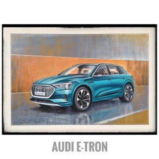 Audi e-tron ⠀70x100cm ⠀холст, акрил ⠀ ⠀Будущее рядом. Теперь мои картины можно увидеть в шоу-руме Audi в Сочи. ⠀ ⠀#ЧибисковПавел #художник #Картины #Живопись #Искусство #картинаназаказ #арт #холстакрил #паркгорького #pavelchibiskov #art #paintings #audi #e-tron #electriccar #auto #energy #acrylicpainting #acryliconcanvas