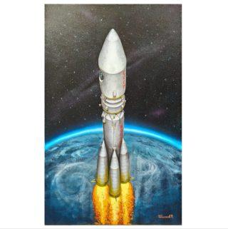 """С днём космонавтики! ⠀""""Поехали!"""" ⠀ ⠀В этом году юбилей - ровно 60 лет назад Юрий Алексеевич Гагарин совершил первый в мире орбитальный облёт нашей планеты  Земля, который длился 106 минут. ⠀ Поздравляю всех, кто не равнодушен к космосу. Совершить подобное этому полету возможно лишь опираясь на усердия большого количества людей, имеющих разное происхождение и мировоззрение, но объединённых одной общей целью."""
